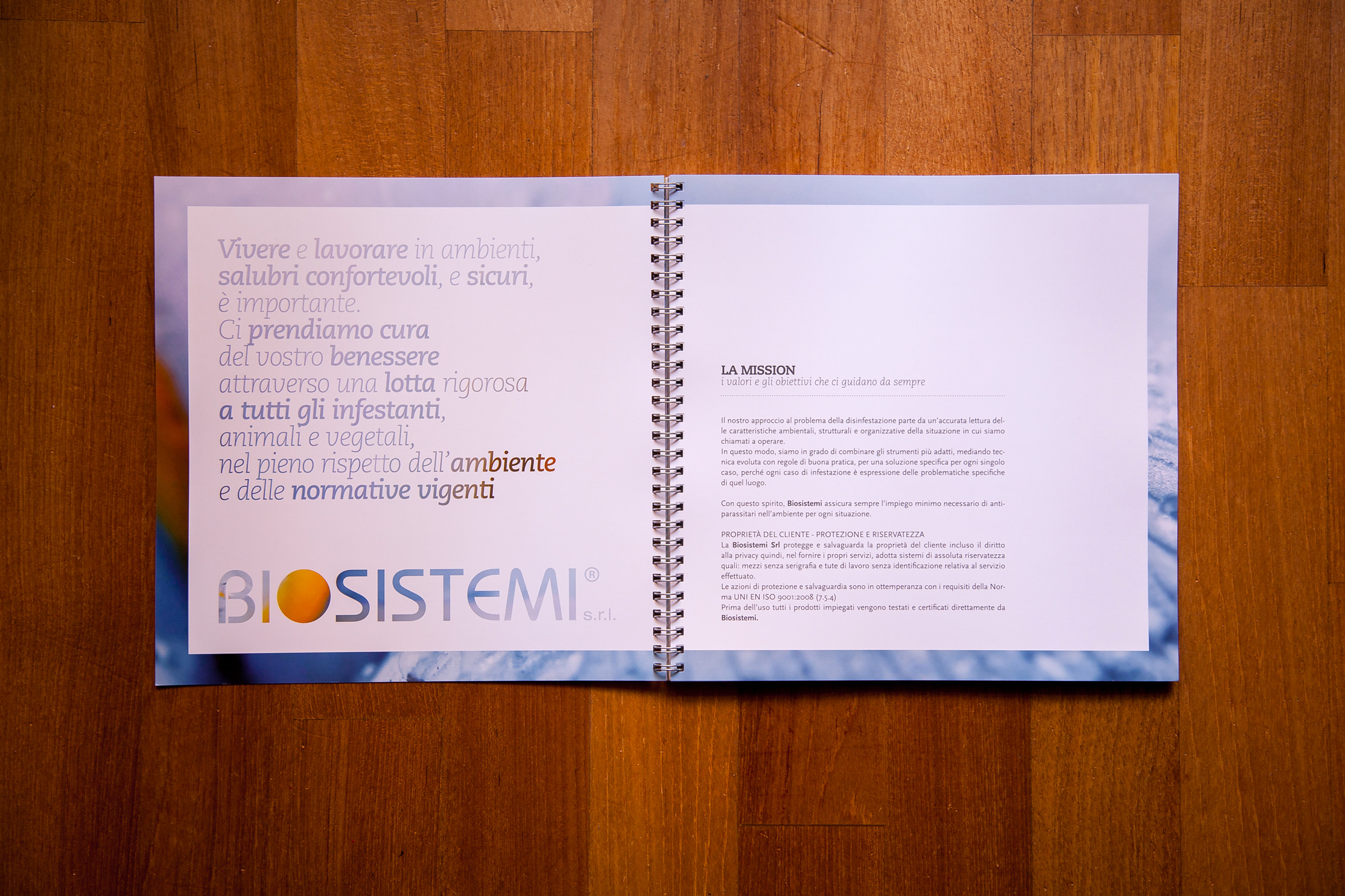 BIOSISTEMI company profile, mission